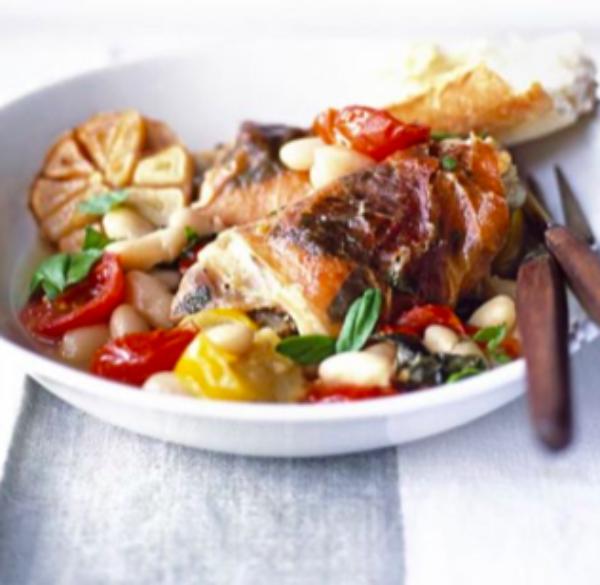 Italian Chicken & Beans