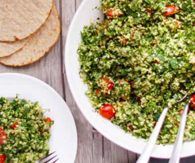Broccoli tabbouleh